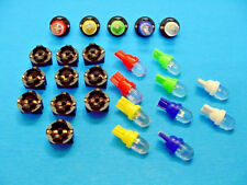 "15 Assorted Domes LEDs Lights Bulbs 1/2"" Sockets Side Marker License Plate Ford"