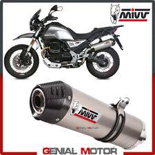 Mivv Exhaust Muffler Oval Titanium Carbon Cap kat MOTO GUZZI V85 TT 2019 2020