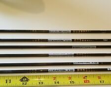 "Six arrows -Easton x10 - 500 spine - 28"""