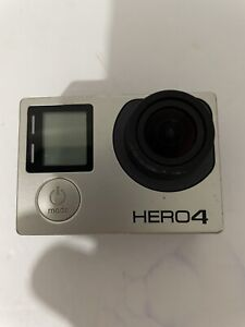 GoPro Hero 4 silver.  Read!