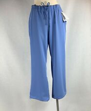 NWT Classic Fit Collection by Jockey Unisex Pocket Scrub Pant XL Blue Style 2294