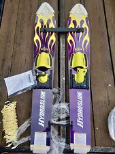 "HydroSlide Grom Trainer Combo Water Skis 46"""
