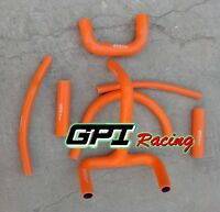 For KTM LC4 620 625 640 660 Silicone Radiator Coolant Hose Kit