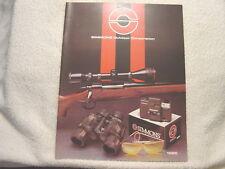 SIMMONS SCOPE OPTICS 1985 gun shooting catalog