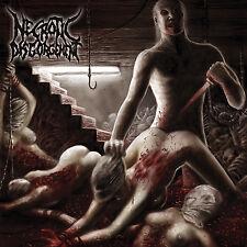 "NECROTIC DISGORGEMENT ""Suffocated in Shrinkwrap"" death metal CD"