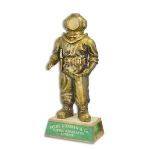 Gusseisen Figur Skulptur Taucher ha-28