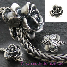 TROLLBEADS Silberbead Rose - Juni - Rose - June - TAGBE-00032