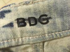 BDG high rise cigarette long jeans sz 26in stars stripes American jeans womens