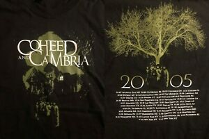Coheed and Cambria 2005 Vintage Concert TShirt BRAND NEW NOT REPRINT Size XL
