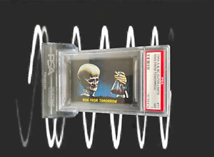 1964 A&BC Outer Limits MAN FROM TOMORROW #11 NEAR MINT 7 - Vintage garno PSA