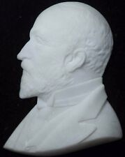 Antique Victorian Male Bust in Shadow Box, Interestingly Carved, NICE! Unknown