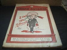 """Revue GRAND GUIGNOL N°29 Janvier Février 1926 """"Poincaré"""""""
