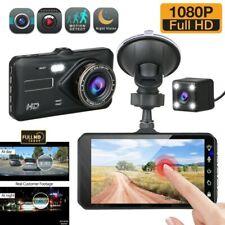 "4"" Dual Lens Car DVR Camera Vehicle Video Recorder Dash Cam Night 1080P Full HD"