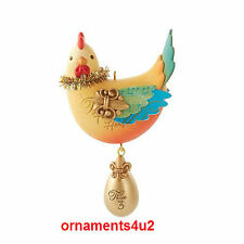2013 Hallmark Series Ornament Three French Hens #3 Twelve Days of Christmas