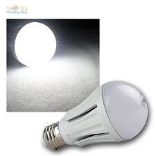 5 x Bombilla de luz LED E27 G40 SMD blanco fría 380lm, 230V