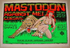 2007 Mastodon - Orlando Silkscreen Concert Poster S/N by Stainboy