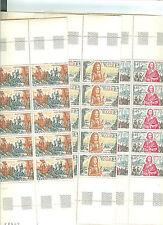 YVERT N° 1655 à 57 x 25 RICHELIEU, LOUISXIV, FONTENOY TIMBRES FRANCE NEUFS**