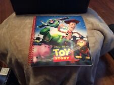 Disney Pixar Toy Story Notebook 3-D With Stickers Disney Store