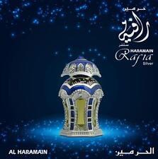 Rafia Silver 20ml Oil by Al Haramain - Unisex - Lemon, Saffron, Musk, Patchouli