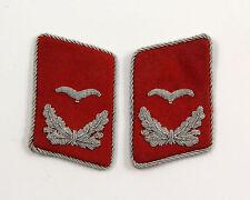 Pattes de col officier Luftwaffe , wehrmacht WW2  (matériel original)