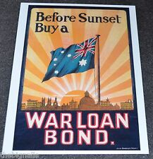 WWI  Poster Before Sunset Buy a  Postcard new