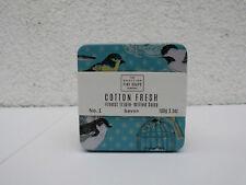 Seife The Scottisch Fine Soaps Company Baumwoll frisch Seife 100 g in Metalldose