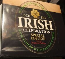 Irish Celebration Special Edition 2 CD Set 30 Traditional Pub Songs NEW Sealed