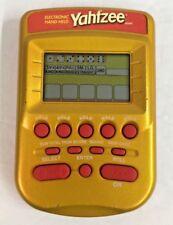 2002 Hasbro Gold Yahtzee Electronic Hand Held Game