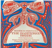 Smetana: The Bartered Bride / Chalabala, Prague National Theatre - LP Sealed