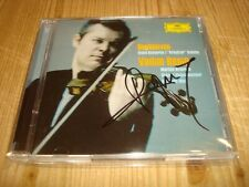 VADIM REPIN Beethoven Violin Concerto & Kreutzer Sonata DGG 2CD Signed Signiert