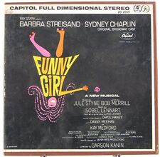 Funny Girl Broadway Soundtrack Barbra Steisand Reel to Reel Tape Stereo ZO 2059