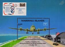 US Army DOUGLAS C-54 SKYMASTER Military Transport Aircraft Stamp Sheet (1986)