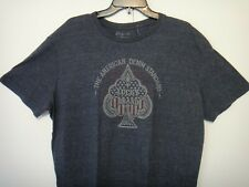 Lucky Brand Mens T-Shirt The American Denim Standard Lucky Brand Bluish Gray XLG