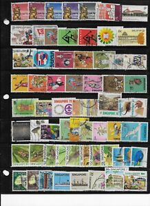 Singapore stamp collection lot 19