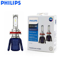 Philips H11 LED 11362UEX2 Ultinon Essential Auto Headlight 6000K White Lamps 2X