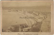Nice Vue prise du Château Photo Vintage Albumine