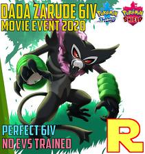 6IV ZARUDE ⚔️ Event 2020 🛡 for Pokemon SWORD & SHIELD ⚔️ Legit & Perfect