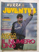 HURRA' JUVENTUS N. 1 GENNAIO 1996 ANGELO PERUZZI JUGOVIC DEL PIERO CHAMPIONS