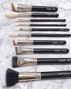 R&M Professional Makeup Artists Essential Makeup Brush Set *select Your Choice**