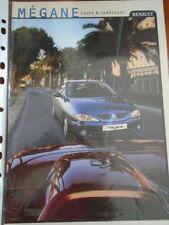 Renault Megane Coupe & Cabriolet range brochure Apr 1999