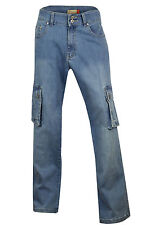 Stonewashed Jeans Plus Size High for Women