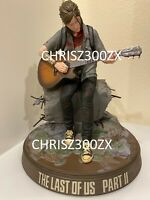 The Last of us Part II 2 ELLIE EDITION PS4 Guitar Statue Figure + Box [NO GAME]