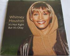 "WHITNEY HOUSTON - CARDSLEEVE SINGLE CD ""IT'S NOT RIGHT BUT IT'S OKAY"" NEW - NEUF"