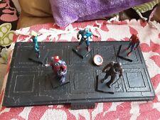 Marvel Super Hero Platform With Invisible  Women/ Captain...
