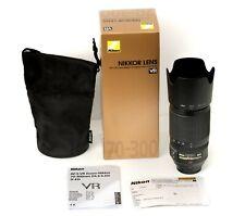 Nikon AF-S VR Zoom-Nikkor 70-300 mm 4,5-5,6 G IF-ED Obiettivo OVP