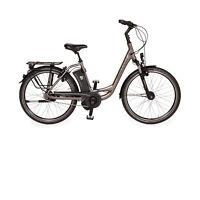 Raleigh Dover Impulse 8 HS 14,5 AH 2015 Metall Fahrrad Grau E-Trekking Bike