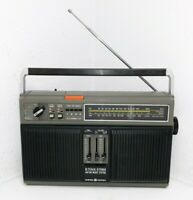 Vintage GE General Electric 3-5531A AM/FM 8-Track Radio - Read Description