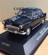 GAZ M21 Volga Wolga black schwarz Cofradis COF001 / VMM001 1:43 IXO VVM IST NEO