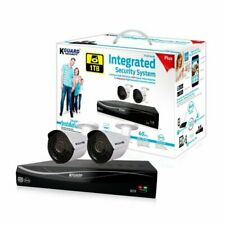 Kguard El431-2Wa713A 4Ch 1Tb Hdd 2 720P Cameras Surveillance System w/Qr code