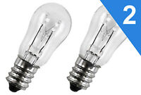 (2 PACK)  1063664 Dryer Light Bulb 10 Watts Replaces GE General Electric